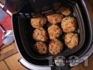 Рецепта Здравословни пържени кюфтета без мазнина в еър фрайър (въздушен фритюрник)